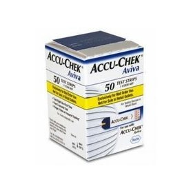 Accu-chek aviva 50 ct. mail order blood glucose test strips