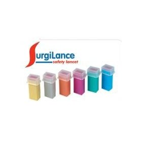 Surgilance needle safety lancet, 100/bx