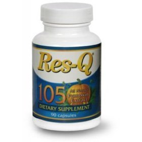 Res-q resq res q 105 max diabetes ~ 1 - 90 capsule bottle by res-q 1250