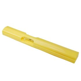 Single syringe 1 piece case color yellow