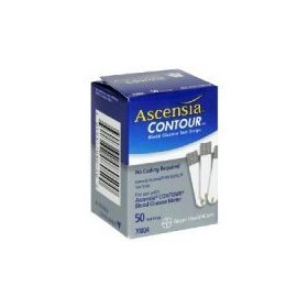 Ascensia contour test strips box of 50