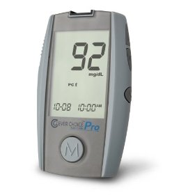 Clever choice pro blood glucose monitor