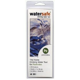 Watersafe 10-pesticide test
