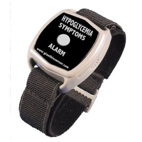 Hypoglycemia symptoms alarm - diabetes watch sold outside usa - no ongoing costs