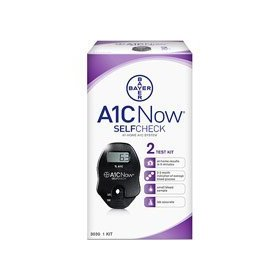 Bayer a1c now self check home system - 2 count