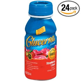 Glucerna shake strawberry, 8 ounce bottles (pack of 24)