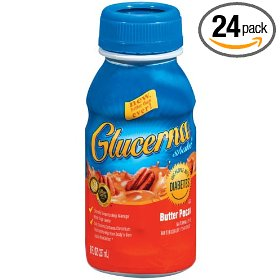 Glucerna shake butter pecan, 8 ounce bottles (pack of 24)