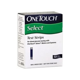 Onetouch select test strips 50 ct.