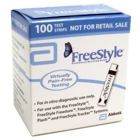 Freestyle mail order test strips, 100-count box