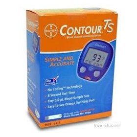 Contour ts blood glucose monitoring system