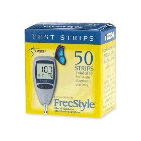 Freestyle test strips - box of 100