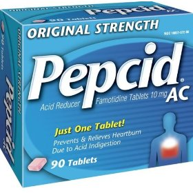 Pepcid ac acid reducer (10 mg), original strength, 90-count tablets