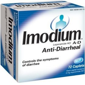 Imodium a-d anti-diarrhea, 72-count caplets