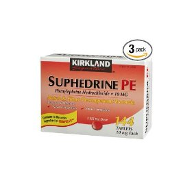 Kirkland suphedrine pe phenylephrine hydrochloride 10mg tablets  144-count (pack of 3)