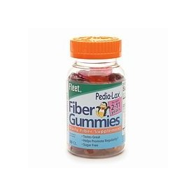Fleet - children's pedia-lax fiber gummies 60 ea