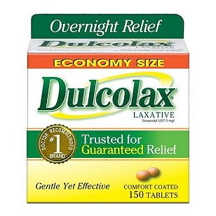 Dulcolax laxative, tablets, 150 count