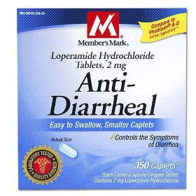 Member's mark anti-diarrheal caplets (compare to imodium a-d), 350-count