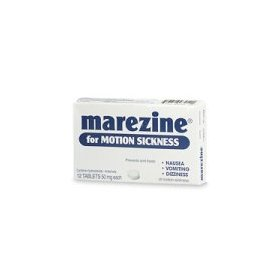 Marezine for motion sickness, tablets - 12 ea