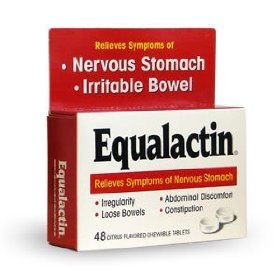 Equalactin citrus flavored tablets for irritable bowels 48 ea