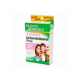 Digestive advantage children's lactose intolerance therapy, cherry, chewable tablets 30 ea