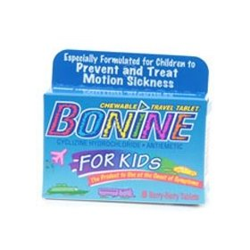 Bonine for children, motion sickness tablets, berry berry 8 ea