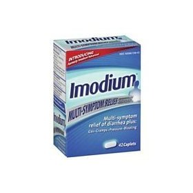 Imodium multi symptom rapid relief of diarrhea caplets - 42 ea
