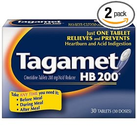 Tagamet acid reducer, 200mg, 30-count tablets (pack of 2)