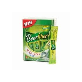 Benefiber fiber drink mix, stick packs