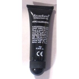 Reliefband conductivity gel