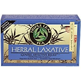 Triple leaf teas - herbal laxative tea, 20 bag
