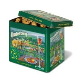 Underberg underberg 2010 collector's gift tin 12 bottles