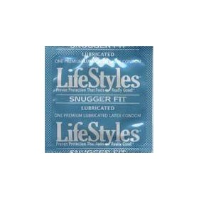 12 lifestyles snugger fit condoms; tighter shape for maximum sensitivity