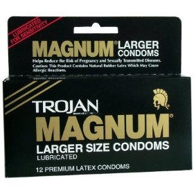 Trojan magnum thin lubricated