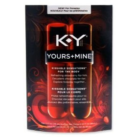 K-y yours and mine kissable sensations