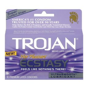 Trojan her pleasure ecstasy ultrasmooth