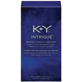K-y intrigue premium personal lubricant, 2.75-ounce container