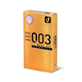 Okamoto zero zero three 0.03 real fit condom (japan edition) 10 pcs pack
