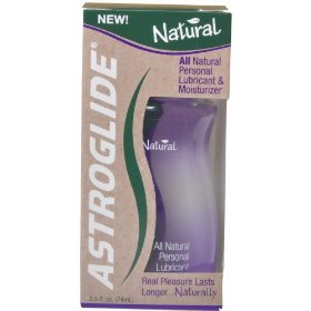 All natural astroglide personal lubricant & moisturizer, 2.5 fluid ounces
