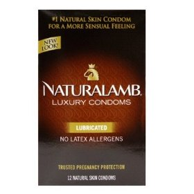 Trojan natural lamb lubricated