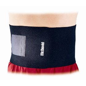 Mcdavid waist trimmer (black, one size)
