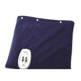 Sunbeam health at home heat plus massage heating pad
