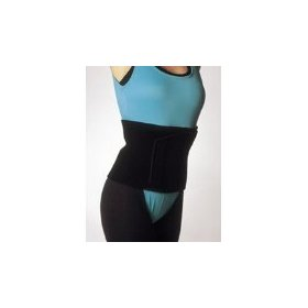 Neoprene heat belt abdominal binder waist cincher exercise wrap, waist trimmer