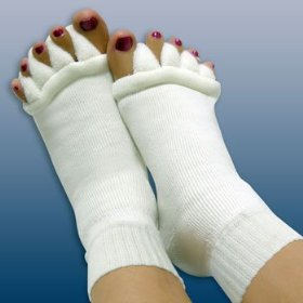 Comfy foot alignment socks