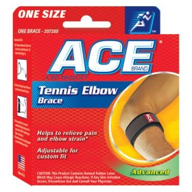 Ace tennis elbow brace one size