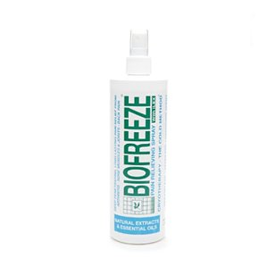 Biofreeze pain relieving spray with ilex