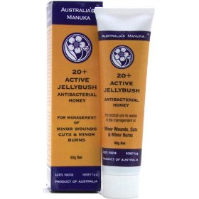 100% active 20+ sterile australian manuka honey wound management