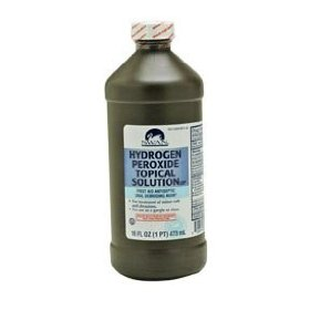 Hydrogen peroxide antiseptic solution 16 oz