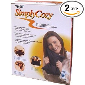 Cryopak simply cozy 10 x 13-inch microwaveable heat pad (pack of 2)