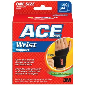 Ace wrist wrap, one size fits all