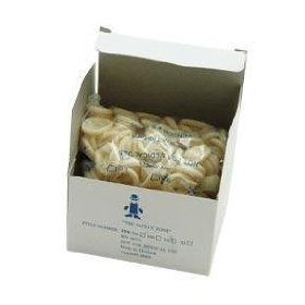 Protective latex tissue finger cots medium 144/box